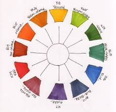 color wheel stock photos pictures royalty free worksheet red blue
