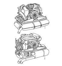 used porsche 911 engines porsche 911 3 2l engine motor los angeles dismantler