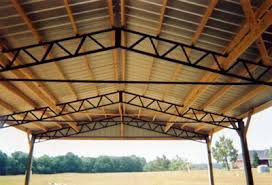 Barn Truss Anybody Used This Style Truss For A Pole Barn The Garage