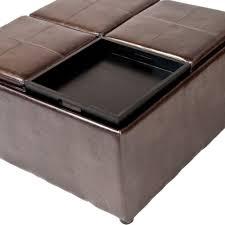 Coffee Table Trays coffee table coffee table astounding round fabric ottoman ottomans