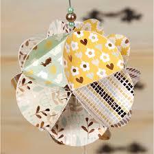 diy origami paper kit to make paper ornament birthday