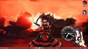live themes for windows 8 1 download visual styles 8 theme anime win8 tokisaki kurumi by hoangtush on