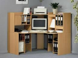 L Computer Desk With Hutch by Furniture L Shaped Desk With Hutch And Office Equipment Plus
