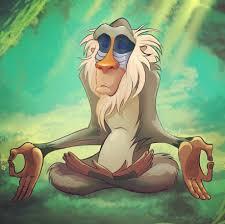 Rafiki Meme - rafiki meditating lion king buscar con google películas