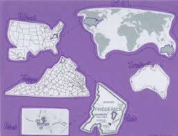 How To Draw The World Map by Hands On Math Learning The Real Number System With Maps