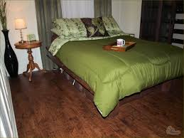Highland Hickory Laminate Flooring Building A Platform Bed For Style And Storage Is Easy