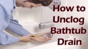bathtub drain clog home remedy home design ideas