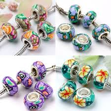 european pandora bracelet images Hot sale colorful polymer clay european beads adw title ad4 jpg