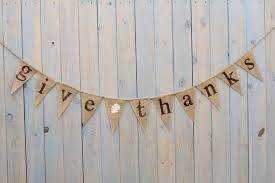 give thanks burlap banner fall sign by butterflyabove on etsy