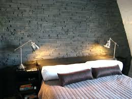 chambre papier peint papier peint imitation brique grise papier peint imitation brique