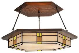 Chandeliers Craftsman Style Mission Style Chandelier The Aquaria