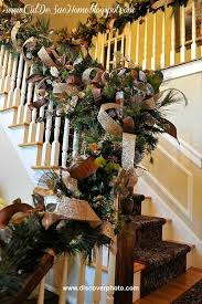 Christmas Railing Decorations Decorate The Stairs For Christmas 20 Ideas To Inspire