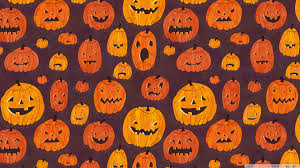 halloween wallpaper for computers halloween pumpkins pattern hd desktop wallpaper high definition