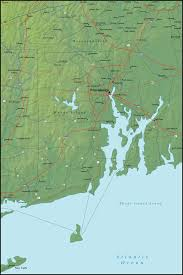 Map Rhode Island Map Of Rhode Island And The Surrounding Region