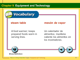 serving line steam tables section 9 1 the commercial kitchen ppt video online download
