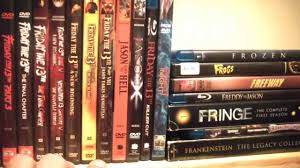 my horror movie collection dvd blu ray 2013 youtube