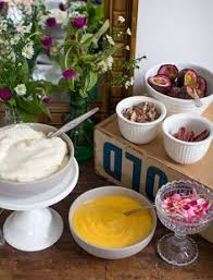 diy pavlova bar for australia day great for stress free