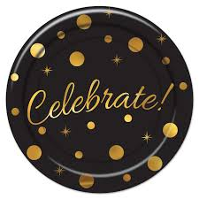 celebrate plate save on celebrate plates pack of 96 by beistle bulk party