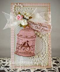 Shabby Chic Bird Cages by 151 Best Birdcage Card Ideas Images On Pinterest Cards Card