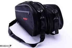 honda deauville honda nt700 deauville saddlebag sideliners side case trunk liners