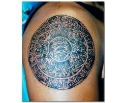 tribal tattoo aztec tattoo service provider from bengaluru