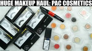 Makeup Pac makeup haul pac cosmetics swatches review stacey