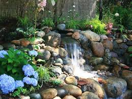 Rock Water Features For The Garden River Rock Waterfall Water Feature Leonidov Fairchild