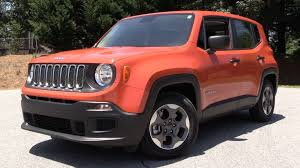 red jeep renegade 2016 2016 jeep renegade sport 1 4l 6 spd manual test drive u0026 review