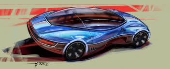 random car sketches with wacom u2013 tomas ivaskevicius design