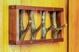 wooden tree branch coat rack wall coat rack 17 coat