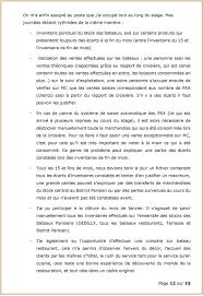 rapport de stage 3eme cuisine rapport de stage brice le 2s41 2 ème ée rapport de