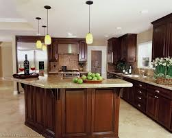 brown and white kitchen cabinets cherry kitchen cabinets with granite countertops black tile glass