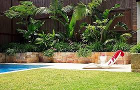 Backyard Landscaping Ideas With Pool Tropical Backyard Landscaping Ideas Awesome Tropical Backyard