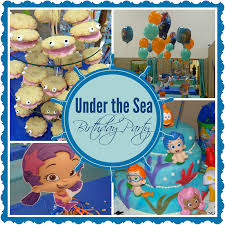 bubble guppies ariel birthday party lets celebrate