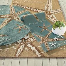 5x7 Outdoor Area Rugs Starfish Outdoor Area Rug Grandin Road