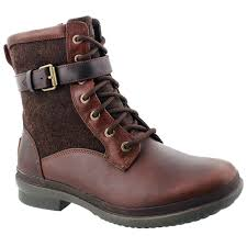 womens waterproof boots australia ugg australia s kesey chestnut waterproof lace up boots