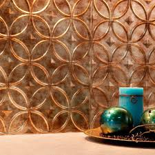 Fasade Backsplash Panels Reviews by Fasade 24 In X 18 In Rings Pvc Decorative Backsplash Panel In