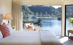 White Bedroom Suites New Zealand Solitaire Lodge Lake Tarawera Rotorua Telegraph Travel