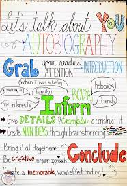 sample essay about myself for kids best 25 autobiography project ideas on pinterest autobiography autobiography anchor chart