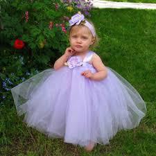 lavender tulle flower dress wedding flower dresses for