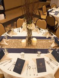 Dining Room Linens Blue And White Wedding Ideas From Bluemont Vineyards Burlap