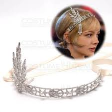 gatsby style hair costume one for onehot silver 1920 s flapper great gatsby style