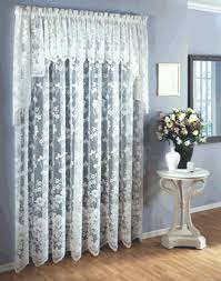 lace curtains floral vine lace curtains by lorraine home
