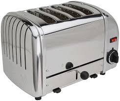 Toaster Poacher Dualit Toaster Classic 4 Slice Chrome 40415