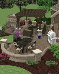 Backyard Paver Patio Ideas Innovative Patio Design Plans Great Design With Paver Patio