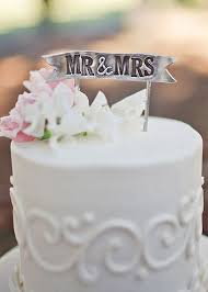 banner cake topper mr mrs banner cake topper wedding collectibles