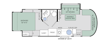 Type B Motorhome Floor Plans Citation Sprinter Class C Motorhomes Floor Plans Thor Motor Coach