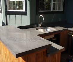 Cement Kitchen Countertops Concrete Countertops Design And Fabrication 5 Feet From The Moon