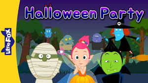 halloween fox halloween party halloween song for kids by little fox youtube