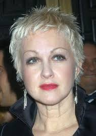 gamine hairstyles for mature women 20 pixie haircuts for women over 50 cyndi lauper short hair and